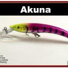 "[BP 82-87]5.9"""" Holographic Purple Deep Diving Pike Fishing Lure"