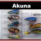 """[BP 8PK 5FLA48 and 3FLA48D]8 2.4""""""""  Holographic Bass Topwater Fishing Lure Tackle D"""