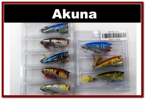 "[BP 8PK 5FLA48 and 3FLA48D]8 2.4""""  Holographic Bass Topwater Fishing Lure Tackle D"