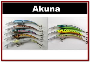 """[BP 8PK 5FLA82 and 3FLA82A]8 Pack 5.9"""""""" Deep Diving Pike Bass Fishing Lure Tackle"""