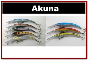 """[BP 8PK 5FLA82 and 3FLA82D]8 Holographic 5.9"""""""" Deep Diving Pike Bass Fishing Lure D"""