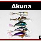 [BP BT 5 Mixed B]Mixed 5 fishing lure baits tackle for bass trout