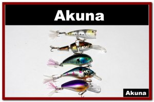 [BP BT 5 Mixed B]Mixed 5 fishing lure baits tackle for bass trout