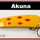 """[SP  02-22]3"""""""" Five of Diamonds Bass Pike Trout Casting Spoon Fishing Lure"""