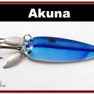 "[SP  10-26]3"""" Neon Shad Bass Pike Trout Casting Spoon Fishing Lure"