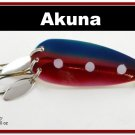 "[SP  10-31]3"""" New Pink Midnight Bass Pike Trout Spoon Fishing Lure"