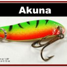 "[SP 14-21-2]1.5"""" Mini Firetiger Bass Pike Trout Casting Spoon Fishing Lure"