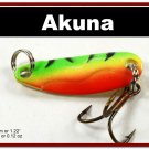 "[SP 39-21-2]1.2"""" Mini Firetiger Bass Pike Trout Casting Spoon Fishing Lure"