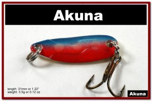 """[SP 39-31-2]1.2"""""""" Mini Pink Midnight Bass Pike Trout Casting Spoon Fishing Lure"""