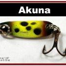 "[SP 39-33-2]1.2"""" Mini Viking Bass Pike Trout Casting Spoon Fishing Lure"