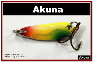"""[SP 39-34-2]1.2"""""""" Mini Holographic Chartreuse Bass Pike Trout Casting Spoon Fishing Lure"""