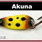 "[SP 42-33-2]1.3"""" Mini Viking Bass Pike Trout Casting Spoon Fishing Lure"