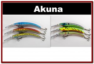 "[BP 6PK 3FLA82A and 3FLA82D]6 Holographic 5.9"""" Deep Diving Pike Bass Fishing Lure D"