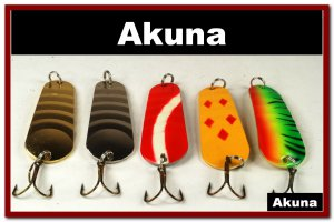 """[SP 5 FLC 002 C]5 3"""""""" 76mm Holographic Ridged Firetiger Spoon Bass Trout Pike Fishing Lure Tackle"""