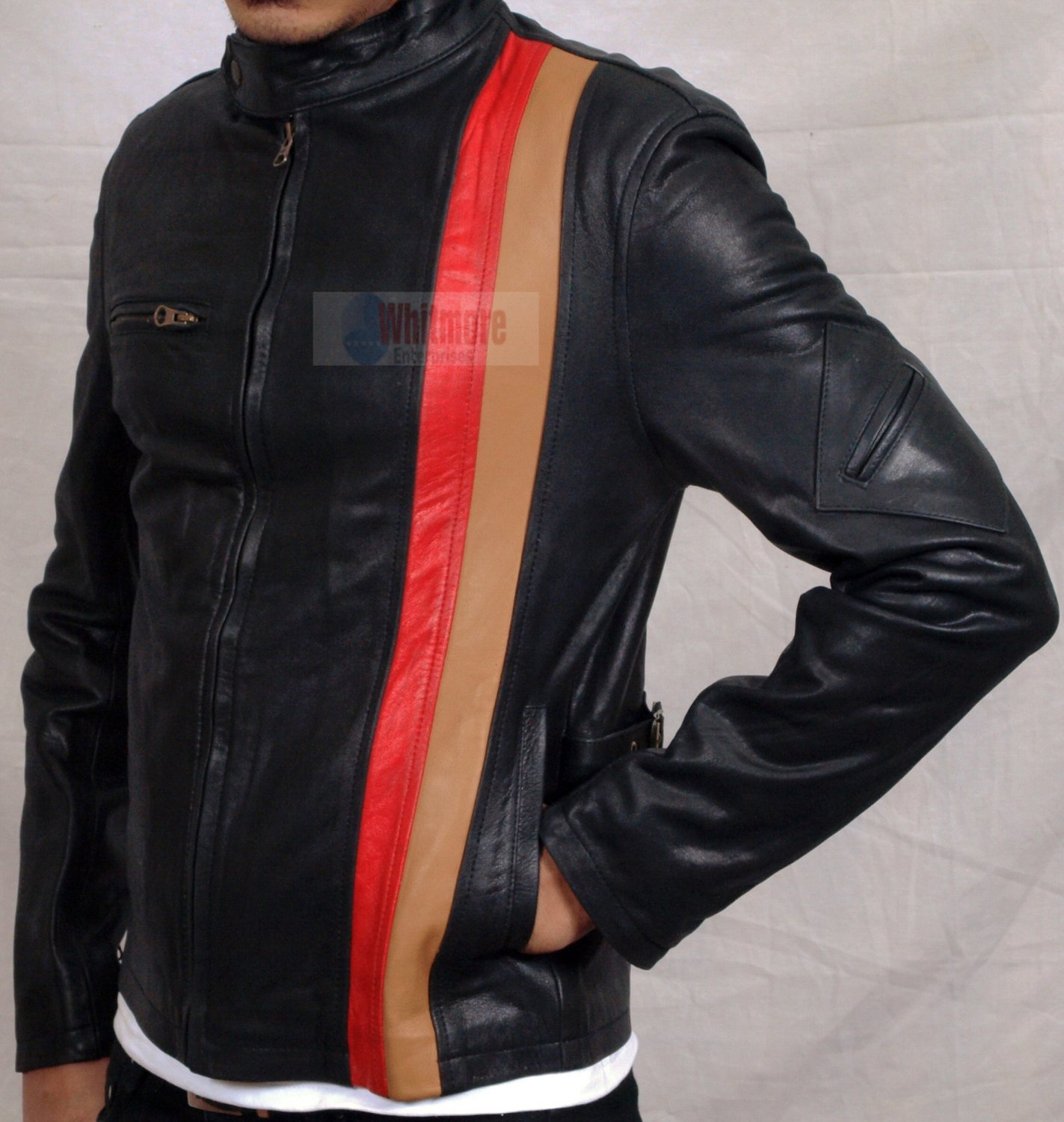 X-Men XMen Cyclop Original Stylish Leather Jacket - All Sizes
