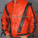 Michael Jackson THRILLER Red Stylish Original Leather Jacket - All Sizes