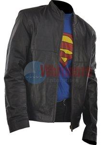 Cruise Minority Report Classic Black Stylish Original Leather Jacket