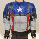 Captain America The First Avenger Original Leather Jacket - All Sizes