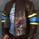 X-Men 3 Wolverine Logans Leather Jacket - All Sizes