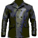 Dr Who Uboat German Kreigsmarine Submarine Cowhide Leather Coat Jacket