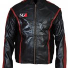 Mass Effect 3 N7 Commander Shepard Gaming Leather Jacket