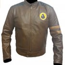 Lotus Racing Brown Leather Jacket