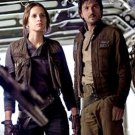 Captain Cassian Andor Star Wars Rogue One Brown Cotton Jacket