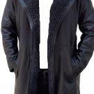 Men Ryan Gosling Blade Runner 2049 Bomber Leather Faux Trench Coat