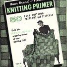 Vintage Knitting Pattern Stitch Library