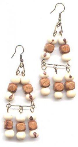 Natural Acai Earrings
