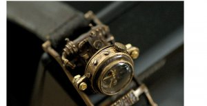 "SteamPunk  Watches  handmade watches"" MECHATOPIA 3 """
