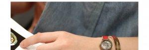 Japan street fashion lady wrist handmade watches TWINLADY nameplate watches
