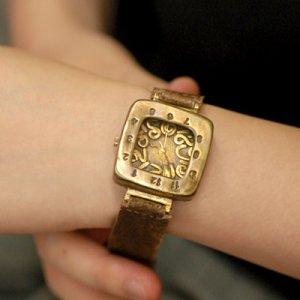 """SteamPunk  Watch handmade watches  """" KID-A """""""