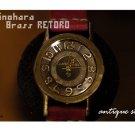 """SteamPunk  ANTIQUE handmade watches """"BRASS RETORO"""""""