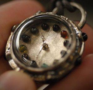 "STEAMPUNK handmade watches  "" SWEET GEM  """