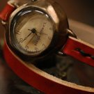 "ANTIQUE type handmade watches  ""  DIVO LEATHER  """