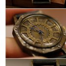Antique punk wrist fashon jewelry Made to Order handmade steampunk watches F-OCT