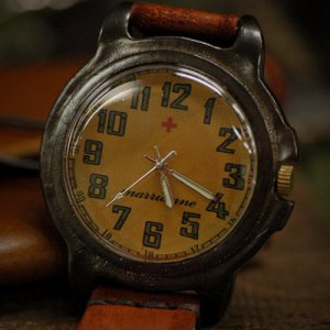 """SteamPunkWatch ANTIQUE handmade watches """"SWITH ARMY1"""""""
