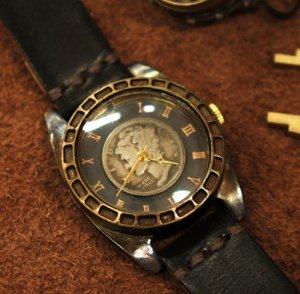 "'USA dime ""  Made to Order   handmade COIN watch"