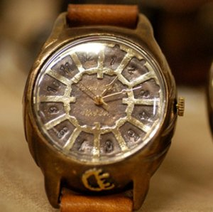 "made to order vintage fashion wrist watch   ""  TRES  """