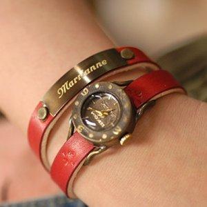 """Bracelets type  Ooaks steampunk HANDCRAFT WATCH """"DEMETER DOUBLE"""""""