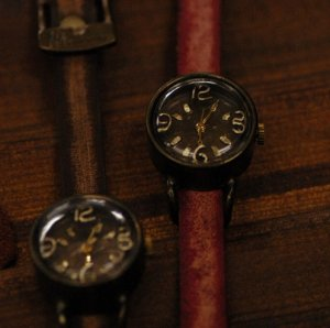 "Bracelets type Ooaks SteamPunk  Watch ANTIQUE handmade watch"" 3.6.9 """