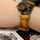 """Bracelets type  made to order SteamPunk lady wrist  Watch """"GEOTRONIC 2"""""""