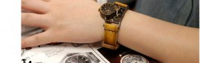 "Bracelets type  made to order SteamPunk lady wrist  Watch ""GEOTRONIC 2"""