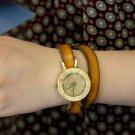 Bracelets type Korea hot SteamPunk  handmade wrist watch MAGOT1 double band