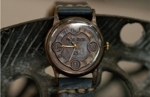 "vintage SteamPunk  Watch ANTIQUE handmade watches ""ANTIQUEST"" fashion gift x-mas"