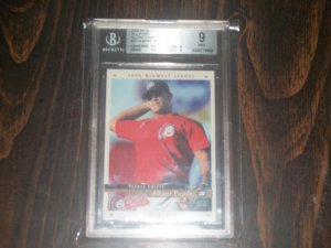 Albert Pujols 2000 Active Graphics MidWest League All-Stars #37 BGS 9