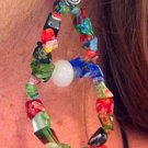 Multi Colored Figure 8 Earings