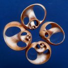 B249 Gems Under the Sea 87304 Sailor's Valentine Cut shells- Natica fasciata-05, 1 oz.