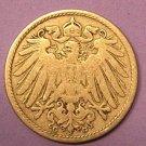 Germany 10 Pfennig 1906G Ruler: Wilhelm II